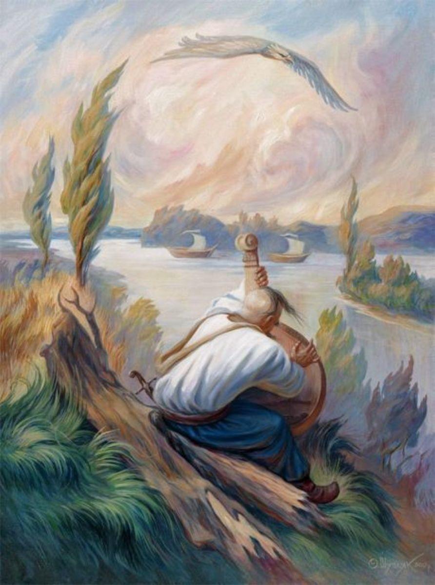 9 березня - День народження Великого Кобзаря - Тараса Григоровича Шевченка