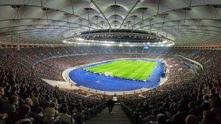 Дебати на стадіоні НСК Олімпійський 14 квітня 2019 року