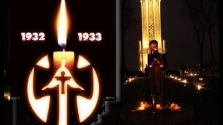 Відео - День пам'яті жертв Голодоморів в Україні. Ми пам'ятаємо